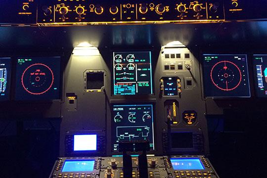 中国先进仿真专业级飞行模拟系统