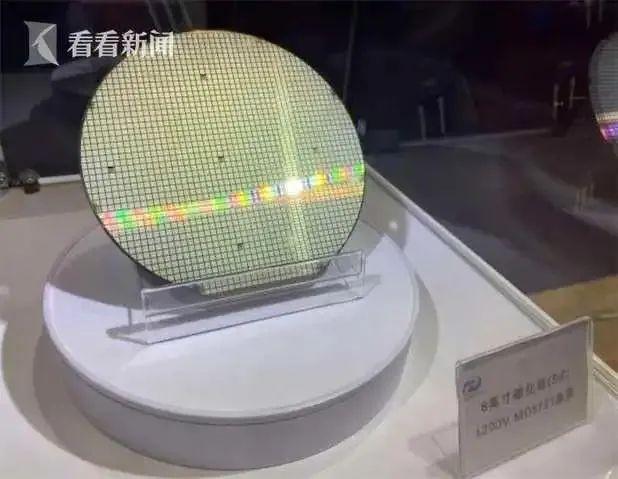 国际创新协同区企业瞻芯电子发布首片国产6英寸碳化硅晶圆产品,达国际先进水平