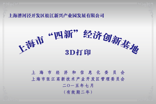 """上海市""""四新""""经济创新基地"""
