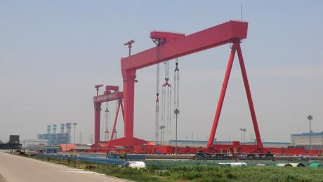 全国最大的3600吨履带式起重机